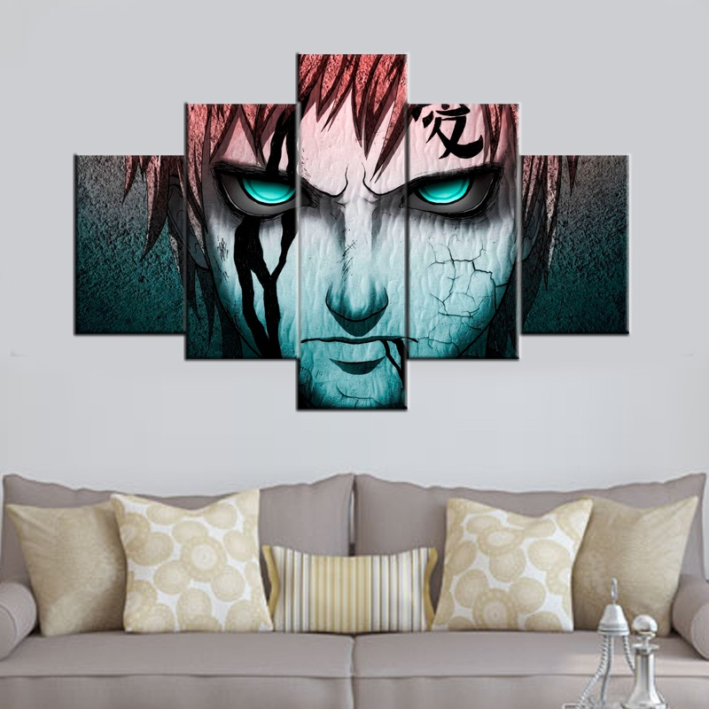 Anime- Modern Canvas Art Wall Decor -Abstract Painting Wall Art with Stretched Frame Ready to Hang
