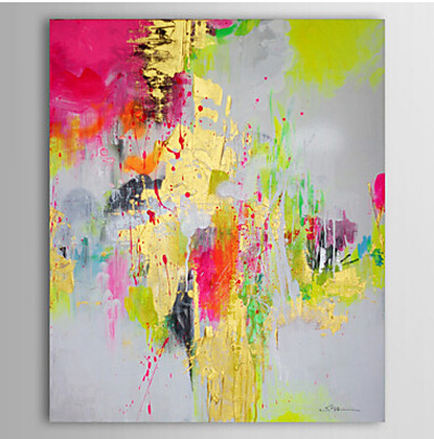 Oil Painting Abstract Hand-Painted Modern Canvas Art