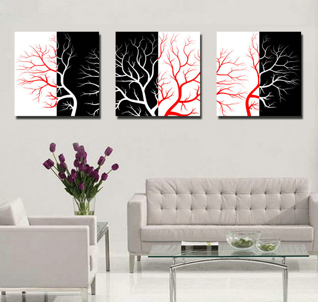 Trees-Modern Canvas Art Wall Decor-Landscape Canvas Prints Wall Art without Frame BJQ1637