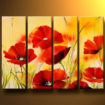 Floral Canvas Wall Art : Cheap Oil Paintings|Paintings for sale|Wall ...