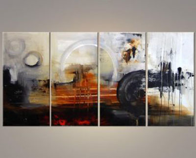 The Forth Planet-Modern Canvas Art Wall Decor-Abstract Oil Painting Wall Art