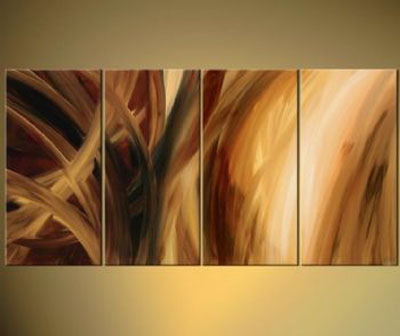 When The Wind Blows-Modern Canvas Art Wall Decor-Abstract Oil Painting Wall Art